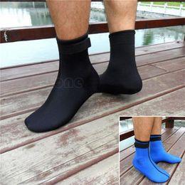 Wholesale Increasing wet diving socks Winter swimming warm socks leg warmers snorkeling
