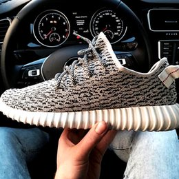 Wholesale 1 Assurance Kanye West Shoes Boost men women Sneakers Moonrock Original Pirate Black Oxford Tan Turtle Dove boosts