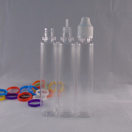 Wholesale 30ml Unicorn Bottle Empty E Liquid Plastic Dropper Bottles E juice Needle Tips top quality