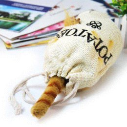 Wholesale Cheap Vibrating Toys - Sonic Control Cat in the Bag Vibrating and Talking Kuso Toy Electronic Pets Cheap Electronic Pets