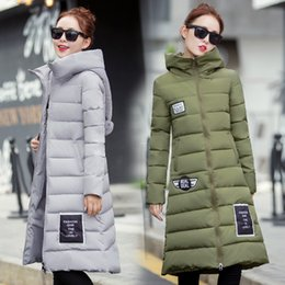 Europe new winter coat Long coat female Women knee dress Bumian paste thickening Christmas hats winter clothes