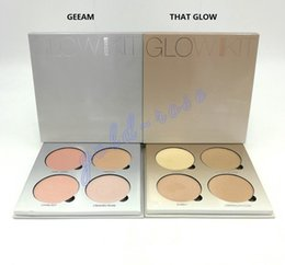 Wholesale HOT Bronzers Highlight Ana Glow Kit Makeup Face Blush Powder Blusher Palette Cosmetic Blushes Brand DHL GIFT