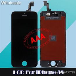 Wholesale LCD de repuesto Promoción digitalizador de pantalla táctil para el iPhone S G C LCD Módulos de cristal del panel de las piezas de reparación del precio de fábrica Para S C G