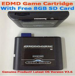 Wholesale SEGA GENESIS MegaDrive MD EDMD Game Cartridge USA Japanese and European game card shell