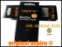 Wholesale new packing Authentic aspire bvc coil coils original aspire nautilus mini coils head ET s ce5 s K1 bdc coils dhl