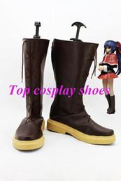 Wholesale Shugo Chara Anime Fujisaki Nagihiko Fujisaki Nadeshiko Cosplay Shoes Boots hand made Custom made freeshipping