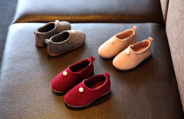 Wholesale 2016 new products listed han edition single girls shoes princess baby soft skin child years old hight quaity shoes kids