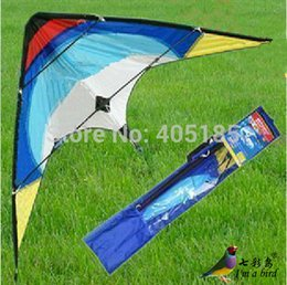 Wholesale Hot AustralIa quot Sport Dual Control Stunt Kite Fun To Flying Factory Outlet