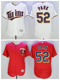 Wholesale Best Quality Byung ho Park Jersey Minnesota Twins Byung Ho Park Baseball Jerseys Flexbase Cool Base Stitched Red Blue Pullover White Grey
