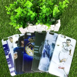 Wholesale Football stars La Liga of Real Madrid Club de TPU Phone Case Cover for iPhone6 s Plus sPlus For Samsung galaxy s7 S6 S7 Edge