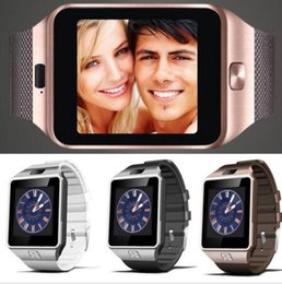 Wholesale DZ09 Bluetooth Smart Watch latest with SIM card for Iphone Samsung Android Cell phone with hard pack