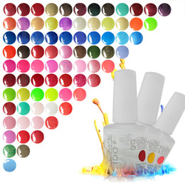 UV Gel Polish IDO Gelish 6Pcs Lot 299 Colors High Quality Nail Art LED Lamp Base Coat Top Coat Gel Nail Polish