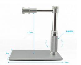 Wholesale 2MP USB Digital Microscope x LED usb Microscope Video Camera Stand Electron Microscopy usb magnifier