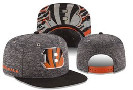 Wholesale Bengals Snapback Hat Fashion Snapbacks Hot Football Teams Hats Sports Caps Men Women Flat Brim Cap SG