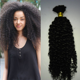 Natural Mongolian Afro Kinky Bulk Hair 100g Kinky Afro Hair Bulk Human Hair For Braiding Bulk No Attachment Kinky Curly