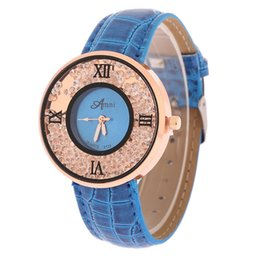 Woman Round Dial PU Leather Band Dress Watch Fashion Analog Quartz Casual New Business Watch For Womens