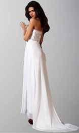 Wholesale Fantastic Strapless Embroidery Appliques Cheap White Big Ass Prom Dresses Plus Size Online Supplier
