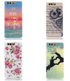 Wholesale For Huawei P9 Lite LG G5 Samsung Galaxy J710 J7 Flower Soft TPU Case Silicone Dream catcher Cartoon Tiger OWL BAM Pow LOVE Skin Luxury