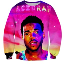 Wholesale Acid Rap Chance The Rapper Men Cewneck D Hoodies Sweatshirt Man Women Pullover Outwear O neck Hip Hop Dance Casual Hipster Hooded