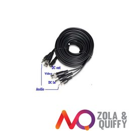 D125ft Video   Power   Audio Promade CCTV Cable Surveillance Security Camera