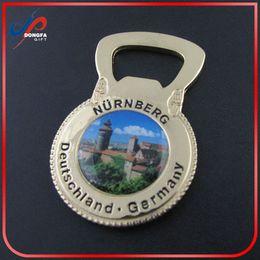 Wholesale Berlin Brandenburg Gate Germany Vintage Bottle Opener Souvenir Bear Coat Popular items for metal bottle opener