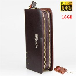 Descuento cámaras ocultas bolsa 1920x1080P HD 16GB DVR espía ocultos videocámara de la cámara del bolso del bolso del bolso de la cámara espía mini cámara de vídeo DV espía Auido Grabadora de Seguridad de la videocámara