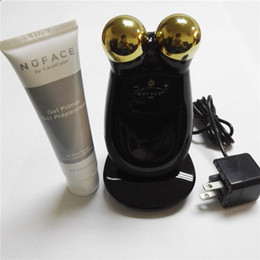 Wholesale NuFACE Trinity PRO K Gold Facial Toning Kit Limited Edition face massager electric roller Multi Functional Beauty Equipment
