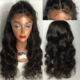 100% Virgin Human Hair Wigs For Black Women 9A Loose Wave Brazilian Full Lace Wigs With Baby Hair Natural Hairline Lace Front Wig