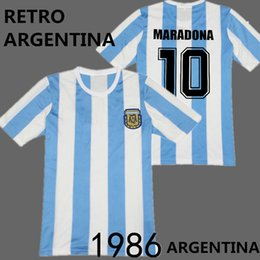 Wholesale Retro Argentina soccer jersey