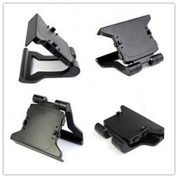 Wholesale New Arrive TV Clip Clamp Mount Stand Holder for Microsoft Xbox Kinect Sensor Mini Adjustable Support For Movement Sensors