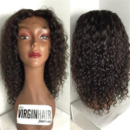 Brazilian Hair Curly Hair Medium Density Lace Front Wig Curly Glueless Full Lace Human Hair Wigs Cheap Human Hair Wigs