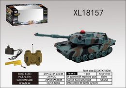 Wholesale RC model tank with Mhz American M1A2 small tank military toys