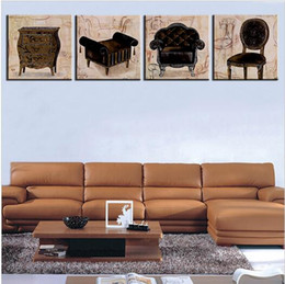 Wholesale patio furniture reproduction wall paintings for home decor idea oil painting art print on canvas