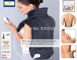 Wholesale Quality physiotherapy electric heating vest back support shoulder pad vest heated shawl suitable for back pain relief
