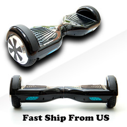"""Ship From US Scooter Hoverboard Smart Balance Wheel 6.5"""" Electric Skateboard Electric Scooter Drop Shipping Fast Free Shipping"""
