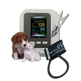 Veterinary Vet Digital Blood Pressure Oximeter HR  SPo2  NIBP Free Spo2 probe