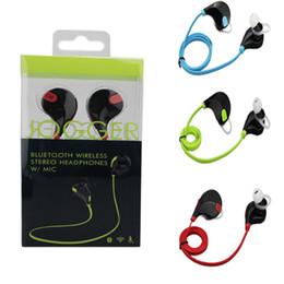Wholesale Sport Bluetooth Headphone QCY QY7 Wireless Stereo Headset Mini Bluetooth Earphone with Mic Handsfree Retail Box