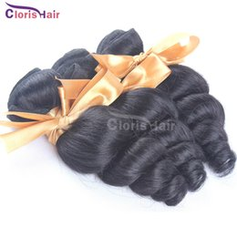 Wholesale Bouncy Curly Brazilian Peruvian Malaysian Indian Loose Wave Human Hair Weave Cheap Bella Loose Curl Brizilian Hair Extensions Bundles Deal