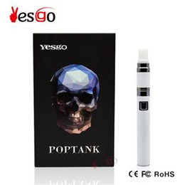 Wholesale Original Electronic Vape Newest Vaporizer Electronic Cigarette Kit ml Yesgo Ceramic Dount Coil Dry Herb Vaporizer Pen Customer Review