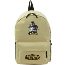 Teemo backpack LOL shooter school bag League of Legends daypack Hot schoolbag New game play day pack