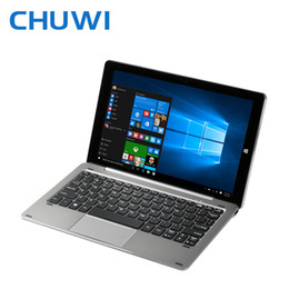 "Ips tablet intel atom online-Al por mayor-Chuwi Hibook Dual OS Tablet PC con procesador Intel Atom Z8300 X5 cereza Trail de 64 bits Windows 10 + 4G 64G 10.1 ""1920x1200 IPS Tipo C-libro 3.0 hi"