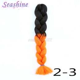 Ombre Braiding Hair 100g Jumbo Braid Synthetic Hair Ombre Jumbo Braid For Woman Fashion Hair Style