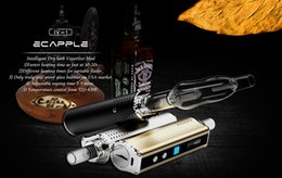 Wholesale Best Item Original Ecapple IV vaporizer Build in mah Battery Temp control Mod for Dry Herb