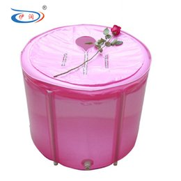 Wholesale Size cm With Pump Hot Selling Tub Thickening Tthermal Adult Folding Bathtub Portable Bathtub With lid