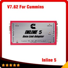Wholesale 2016 Newest V7 for Cummins Inline Insite Scanner For Diesel Engine With Full Insite Adapters Support Multi languages