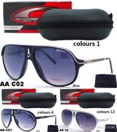 Wholesale 2016 new Carrer Designer Sport Brand Tom Men Women ver dita miu Sunglasses Outdoor Hiking Ford mi masculino crocodile Goggles Versacey