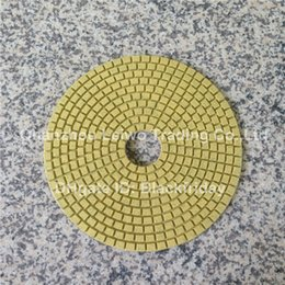 Wholesale Diamond Wet Polishing Pad inch mm Circle Polishing Wheel for Marble Granite Nylon Cloth Abrasive Pad Pieces