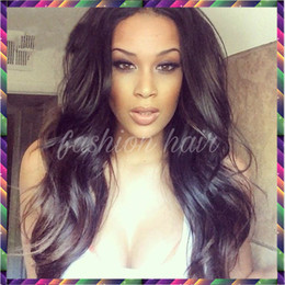 Unprocessed Brazilian Virgin Human Hair Glueless Full Lace Wigs &Lace Front Human Hair Wigs Free Part Loose Wave Lace Wigs