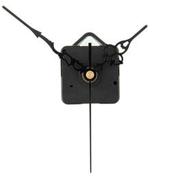 Relojes de cuarzo piezas en Línea--Calientes al por mayor DIY nuevo mecanismo del reloj de cuarzo Movimiento de Piezas de herramientas de reparación del reemplazo del kit del sistema All-Negro Manos regalo elegante