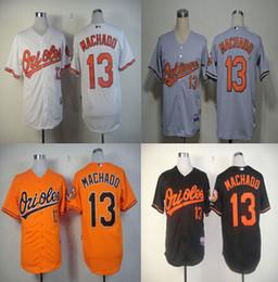 Wholesale Manny Machado Jersey Baltimore Orioles Jersey Baseball Jersey White Black Grey Orange Cream Top Quality